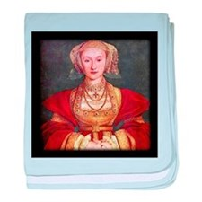 Anne of Cleves baby blanket