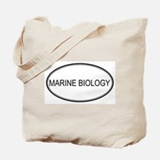 MARINE BIOLOGY Tote Bag