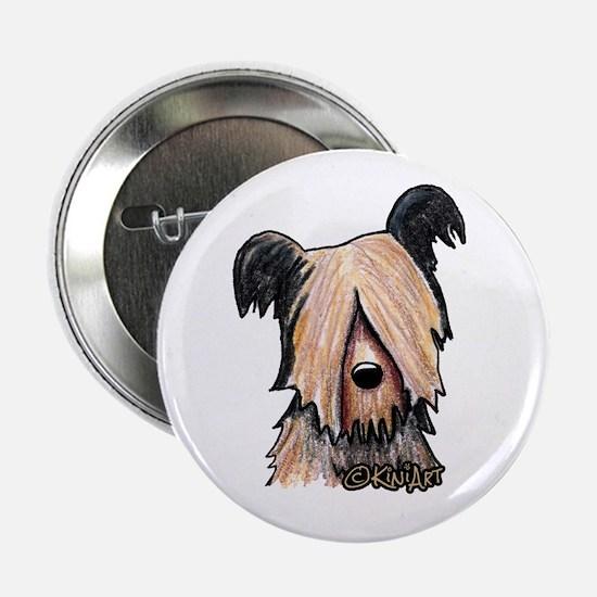 Skye Terrier Button