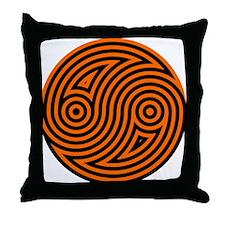 Yin Yang 08 Throw Pillow