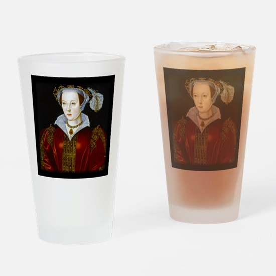 Katherine Parr Drinking Glass
