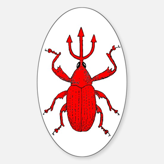 Bo The Evil Weevil Decal