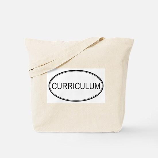CURRICULUM Tote Bag