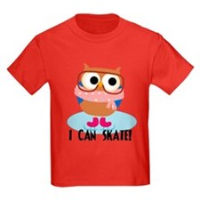 Owl I Can Skate T