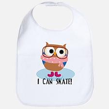 Owl I Can Skate Bib