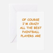 PAINTBALL2 Greeting Cards
