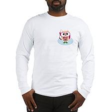 Owl Hockey Chick Long Sleeve T-Shirt
