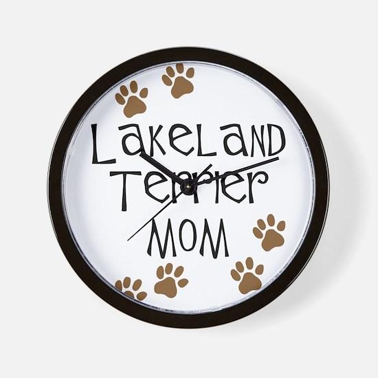 Lakeland Terrier Mom Wall Clock