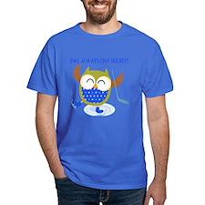 Owl Always Love Hockey T-Shirt