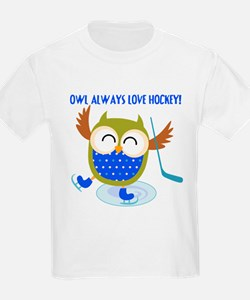 Owl Always Love Hockey T-Shirt
