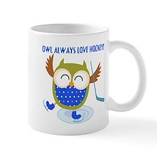 Owl Always Love Hockey Mug