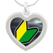 JDM Lover Silver Heart Necklace