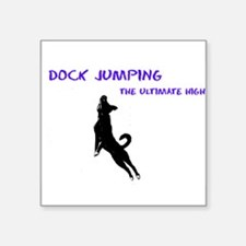 dock jumping 2 Sticker