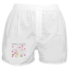 Bunnies Hoppy Easter Boxer Shorts