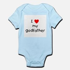 I love my godfather Infant Bodysuit