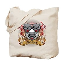 Jimenez Family Crest Tote Bag