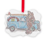 Bigfoot sasquatch Ornaments