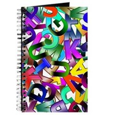 Colorful Alphabet Journal