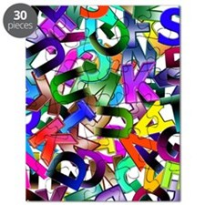 Colorful Alphabet Puzzle