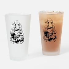 Seated Ganesh (Ganesha) Drinking Glass