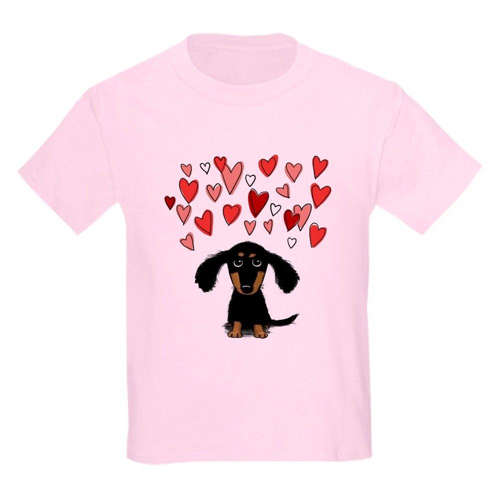 CafePress Cute Dachshund Kids Light T-Shirt