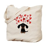 Dachsund Canvas Bags