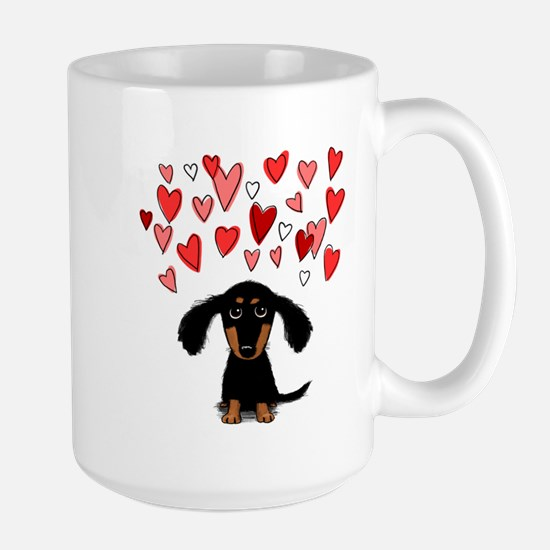 Cute Dachshund Large Mug