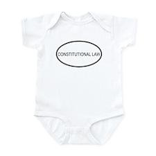 CONSTITUTIONAL LAW Infant Bodysuit