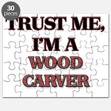 Trust Me, I'm a Wood Carver Puzzle