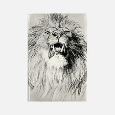 Kindle Sleeve Vintage Lion Rectangle Magnet