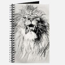 Kindle Sleeve Vintage Lion Journal
