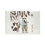 Shiba Inu Rectangle Magnet (100 pack)