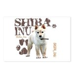 Shiba Inu Postcards (Package of 8)