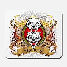 Romero Family Crest Mousepad