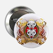"""Romero Family Crest 2.25"""" Button"""