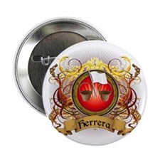 "Herrera Family Crest 2.25"" Button"