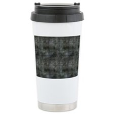 Industrial Grey Metal Travel Mug