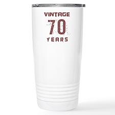 Vintage 70 Years Old Travel Coffee Mug