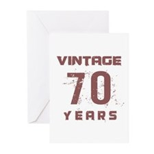 Vintage 70 Years Old Greeting Cards (Pk of 10)