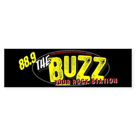 88.9 The Buzz Bumper Sticker