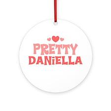 Daniella Ornament (Round)