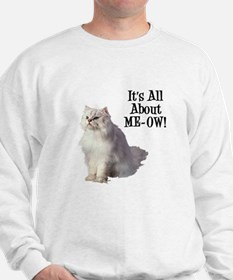 Meow Persian Cat Sweatshirt