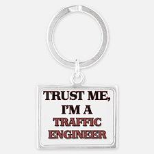 Trust Me, I'm a Traffic Enginee Landscape Keychain