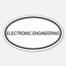 ELECTRONIC ENGINEERING Oval Decal