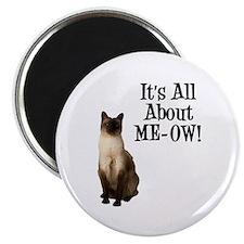 ME-OW Siamese Cat Magnet