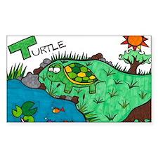 Tentative Turtle Decal