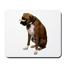 Brindle Boxer Photo Mousepad