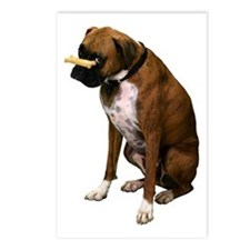 Brindle Boxer Photo Postcards (Package of 8)