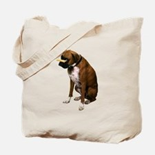 Brindle Boxer Photo Tote Bag