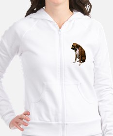 Brindle Boxer Photo Fitted Hoodie